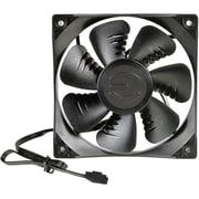 EVGA® FX12 Case Cooling Fan, 120 mm, Black (400-HY-FX12-KR)