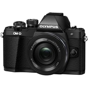 Olympus® OM-D E-M10 Mark II 17.2 MP Actual/16.1 MP Effective Mirrorless Digital Camera, 3x, 14 mm - 42 mm, Black