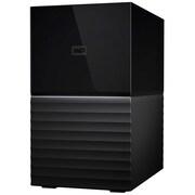 Western Digital® My Book Duo 8TB 2 Bays DAS Storage System (WDBFBE0080JBK-NESN)