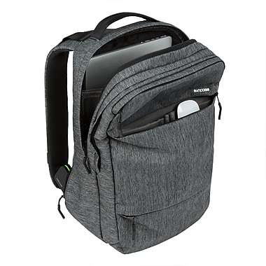 Incase - Sac à dos City, noir chiné (CL55569)