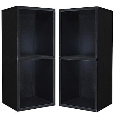 Cathay Importers Double Cube Plus Storage Shelf, 13.5