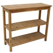 Cathay Importers – Table basse en bois d'acacia, naturel (EC-20-0029)