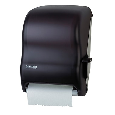 San Jamar Lever Roll Paper Towel Dispenser, Black