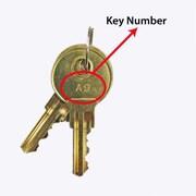 APG Cash Drawer Key, Pk-408k-a1