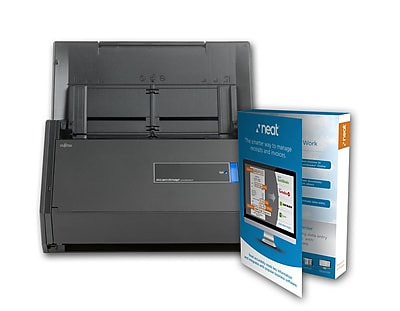Fujitsu ScanSnap iX500 powered with Neat Bundle Scanner (CG01000-289601), 1 year warranty