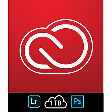 Adobe – Formule Creative Cloud pour la Photo, 1 To [Téléchargement]