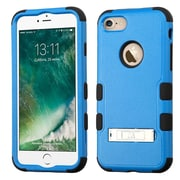 Insten Tuff 3-Piece Style Shockproof SoFT TPU Hard Hybrid Cover Case For iPhone 7 - Blue/Black