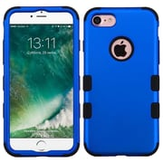 Insten Tuff Hard Dual Layer Silicone Cover Case For Apple iPhone 7 - Blue/Black