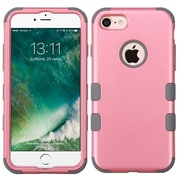 Insten Tuff Hard Dual Layer Silicone Case For Apple iPhone 7 - Pink/Gray