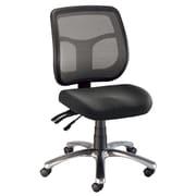 Alvin® Argentum Mesh Back Chair Office Height