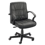 Alvin® Art Director Executive Leather Chair Office Height