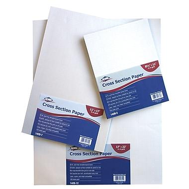 Alvin® Cross Section Paper 4X4 Grid 100-Sheet Pack 11