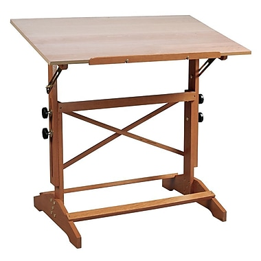 Alvin® Art And Drawing Table Unfinished Wood Top 24