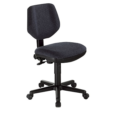 Alvin® Black Comfort Classic Deluxe Office Height Task Chair
