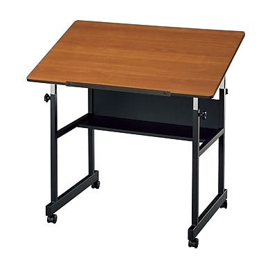 Alvin® Woodgrain Top Table, 24