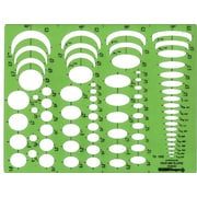 Pickett® Four-In-One Ellipse Template (1262I)