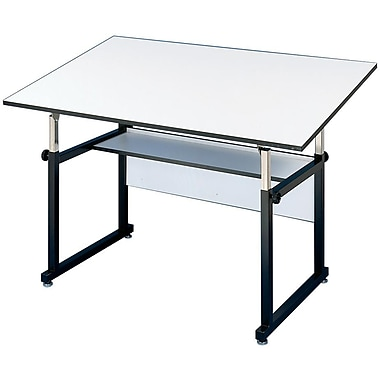 Alvin® Base White Top Table, 37 1/2