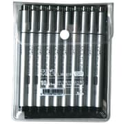 Copic® Black Pen Set, 10/Pack (MLSP10A)