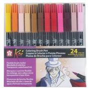 Koi™ Colouring Brush Pen 24-Colour Set (XBR-24SA)