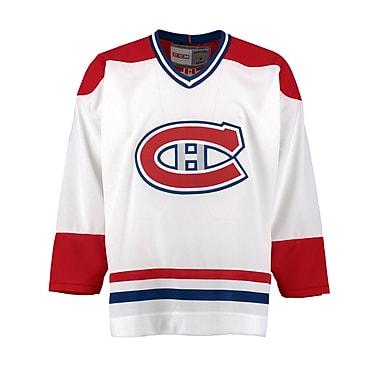 Reebok Montreal Canadiens Vintage Replica White Jersey, Medium