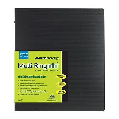 Itoya Multi-ring Mini Binder, 8.5