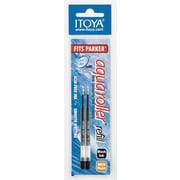 Itoya AquaRoller Refill, 1.0mm, Blue, 2/Pack (AQR-10BUBP-S4)