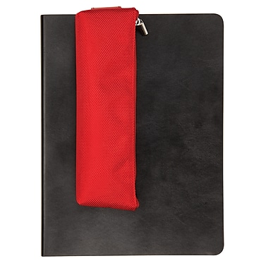 Itoya ProFolio Journal Sidekick Zipper Case, Red
