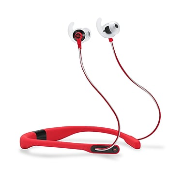 JBL Reflect Fit Earbuds - Heart Rate Wireless Headphones, Red