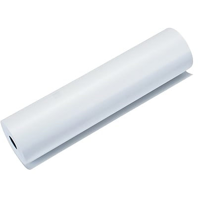 """Brother Standard Perforated Thermal Paper For PocketJet 3 Printers, 8 1/2"""" x 11"""", White, 6 Rolls/Pack (LB3663)"""