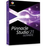Corel® Pinnacle Studio 21 Ultimate Photo Editing Software, 1 User, Windows (PNST21ULEFAM)
