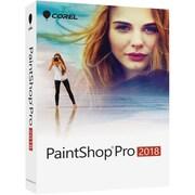 Corel® PaintShop Pro 2018 Photo Editing Software, 1 User, Windows, DVD with Download Card (PSP2018ENMBAM)