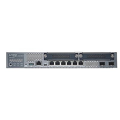 Juniper® Desktop Gigabit Ethernet Gateway Security Appliance, 8 Ports (SRX320-SYS-JB)