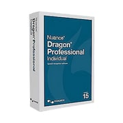 Nuance® Dragon v.15.0 Professional Individual Software, 1 User, Windows (K809A-F02-15.0)