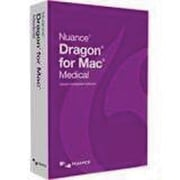 Nuance® Dragon v.5.0 for Medical Software, 1 User, Mac OS (T381A-G00-5.0)