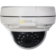 Q-See® QTN8067D Wired 4 MP IP Dome Camera, Black/White