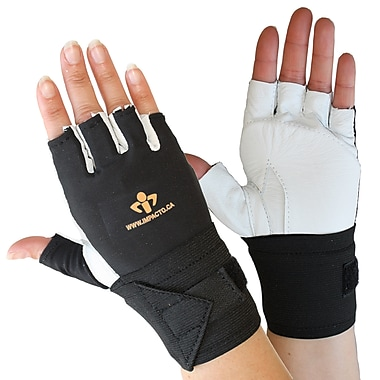 Impacto 471-31 Half Finger Impact Glove W/wrist Support