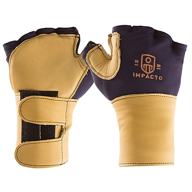 Impacto 704-20 Fingerless Impact Glove W/wrist Support