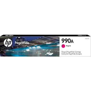 HP 990A Magenta Original PageWide Ink Cartridge (M0J77AN)