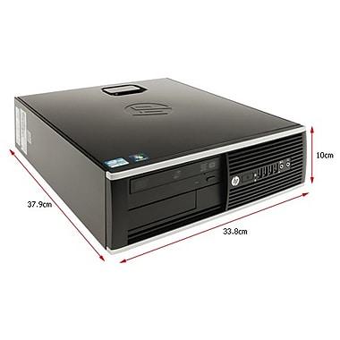 HP - PC de table Elite 8200 HPEL8200SFFI5 SFF remis à neuf, Core i5-2400 3,1 GHz, DD 500 Go, DDR3 Dimm 4 Go, Windows 10 Famille