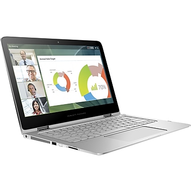 HP - Ultrabook Spectre Pro x360 G2 W4Q64UC à écran tactile remis à neuf 13,3 po, Intel Core i7-6600U 2,6 GHz, SSD 512 Go, DDR3 8