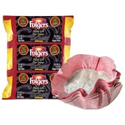 Folgers Black Silk Dark Roast Ground Coffee Filter Packs, 39.7 g (1.4 oz.), 40/Pack