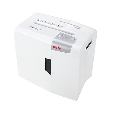 HSM Shredstar S10 10-Sheet Strip-Cut Shredder, White (HSM1042w)