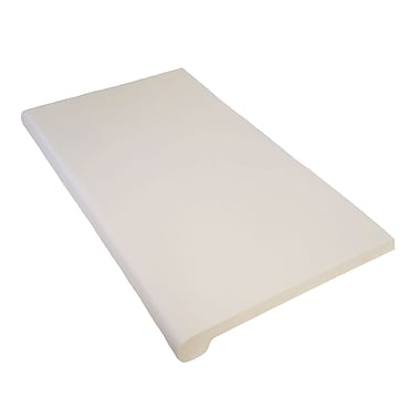 Wamaco Bullnose Shelves, White, 8/Pack (38-9923W)
