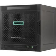 HP ProLiant MicroServer Gen10 Ultra Micro Tower Server, 1 x AMD Opteron X3421 4 Core 2.10 GHz, 8 GB Installed DDR4 SDRAM