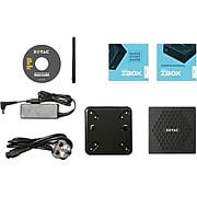 ZOTAC ZBOX nano Desktop Computer, Intel Celeron (ZBOX-CI327NANO-U-W2B)