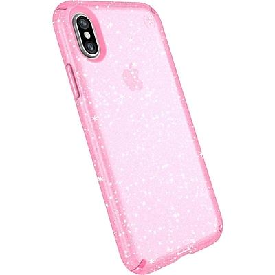 Speck Presidio Clear + Glitter iPhone X Case (103132-6603)