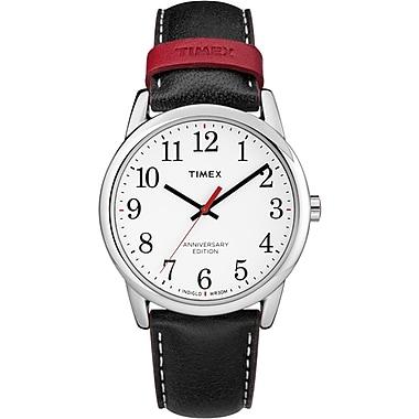 Timex Easy Reader 40th Anniversary Watch, 38mm, Silver/Black (TM-TW2R40000ZA)