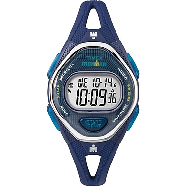 Timex Ironman Sleek 50 Mid Watch, 34mm, Navy (TM-TW5M13600CS)