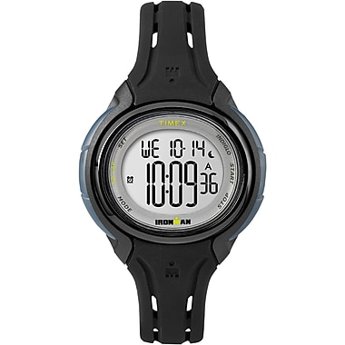 Timex Ironman Sleek 50 Mid Watch, 34mm, Black (TM-TW5M13700CS)