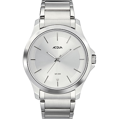 Acqua by Timex Classic Watch, 44mm, Silver (TM-AA3C7850070)